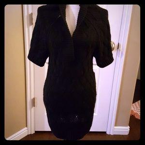 Tunic black sweater